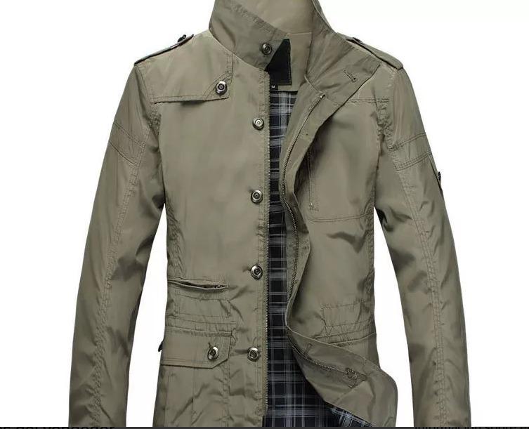 80a42cf47 Moda Europea / Abrigo Casaca Hombre 2019 Chaqueta