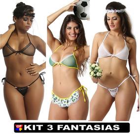 d0603fcc2 Lingeries Sexys Barata - Lingerie no Mercado Livre Brasil
