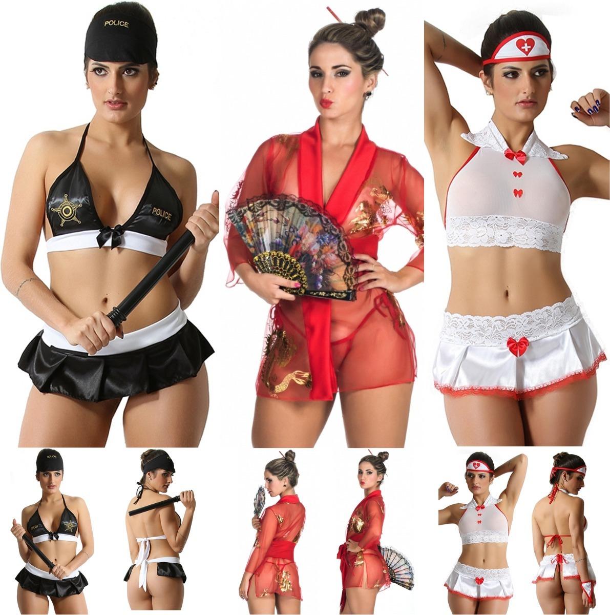 6fb73a926 moda intima kit com 3 fantasias lingerie sex atacado revenda. Carregando  zoom.