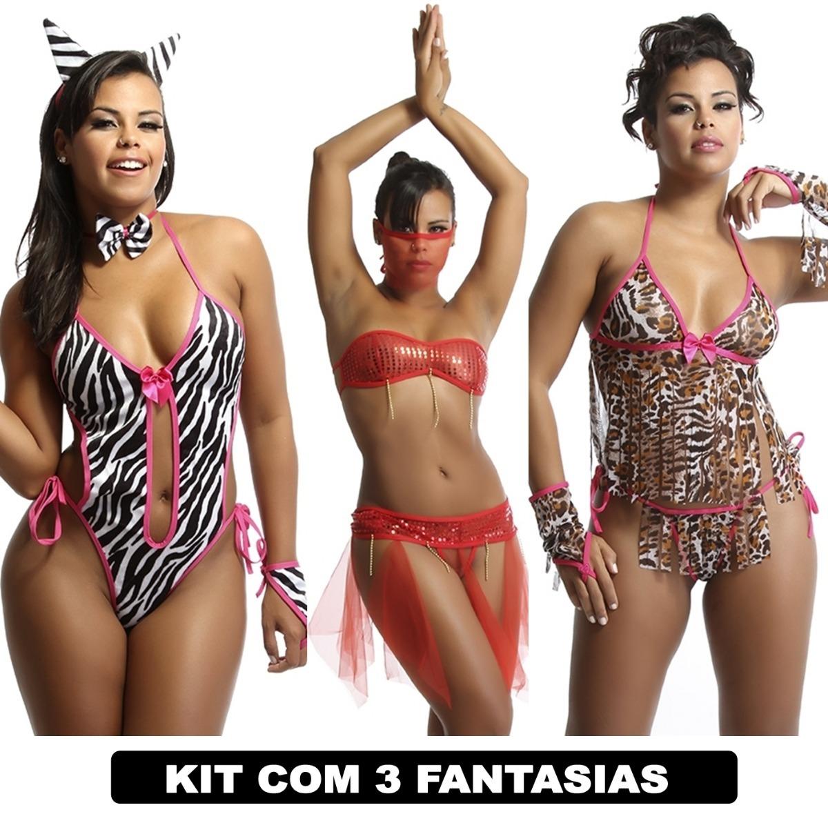 b145d496c moda intima lingerie atacado sensual kit com 3 lingerie. Carregando zoom.