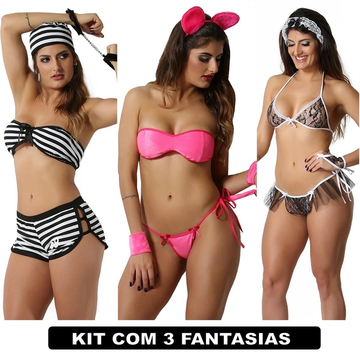 794e66fcc moda íntima e lingerie conjuntos feminino kit com 3 uni sexy. Carregando  zoom.