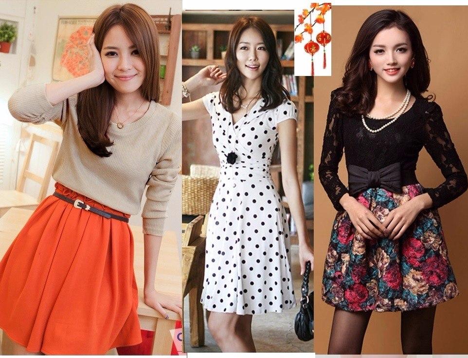 3069475edb4 Moda Japonesa Oriental Asiat Vestido Blusa Falda Fies S Xl A ...