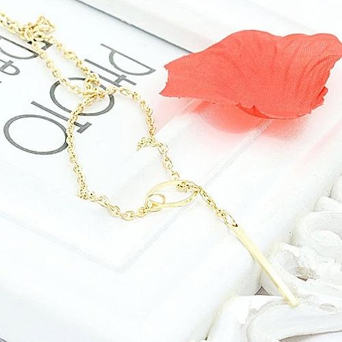 moda joias feminina colar  ajustável  com pendentes