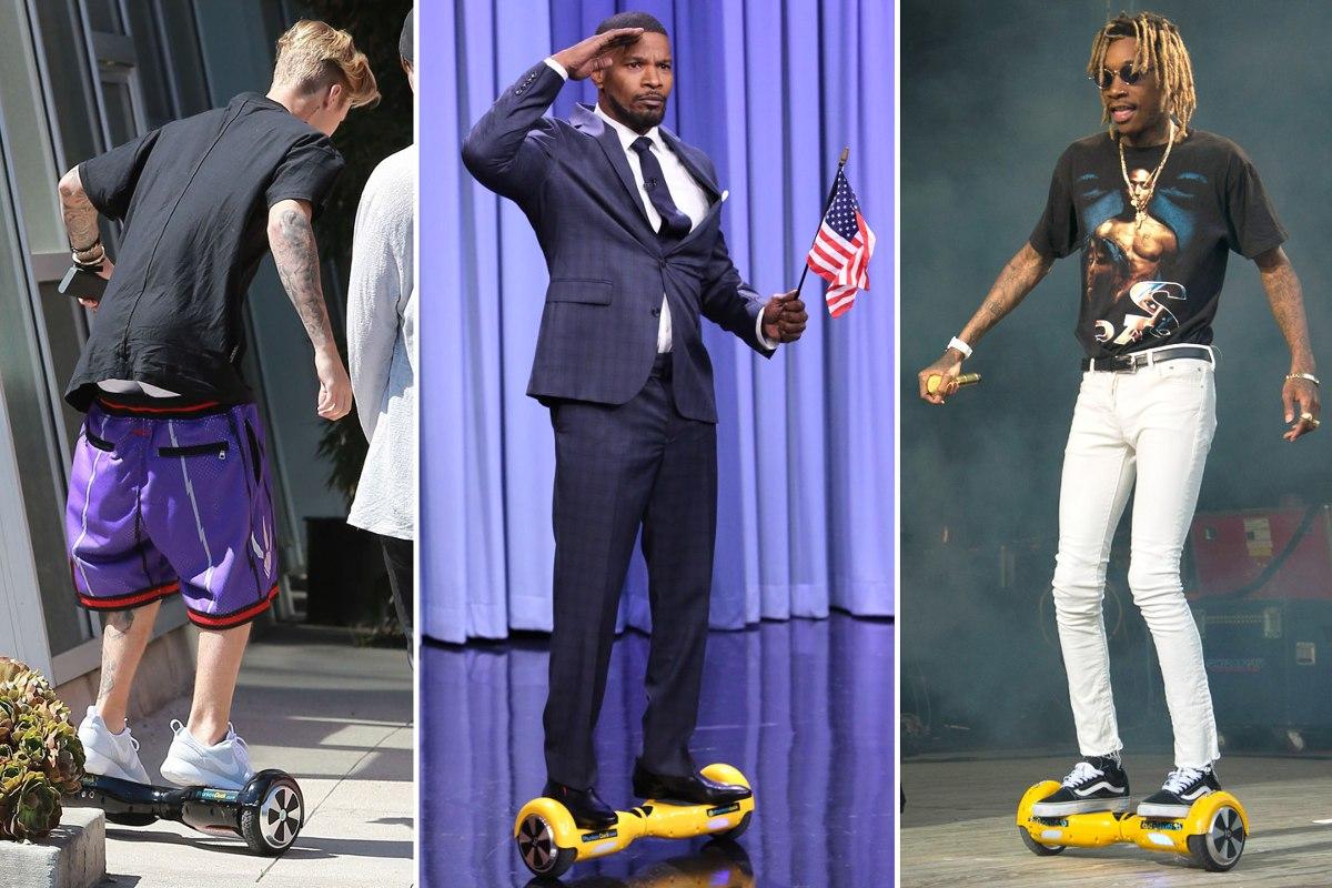 moda luxo hoverboard skate elétrico scooter segway. Carregando zoom. ec8d2b445b8