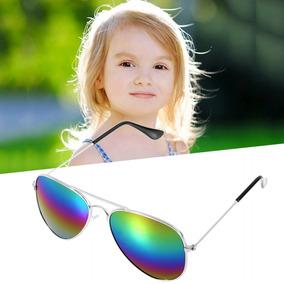 eb6c07120 Moda Meninos Meninas Crianças Óculos De Sol Espelho Reflexo