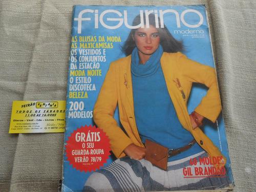 moda moldes figurino lote com 5 revistas sem moldes