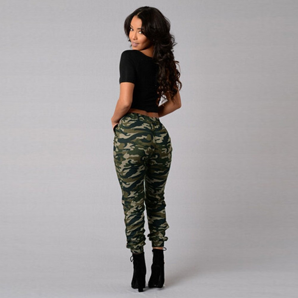 pantalones camuflaje chica
