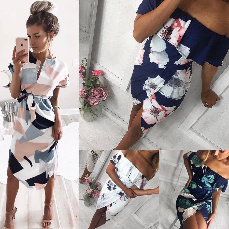 1a5d4a2a Moda Mujer Vestido Enterizo Corto Verano Flores - $ 70.200 en ...