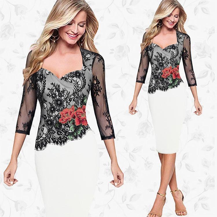 dcd90755d5 Moda Mujer Vestido Fiesta Elegante Casual Formal Gala -   95.600 en ...