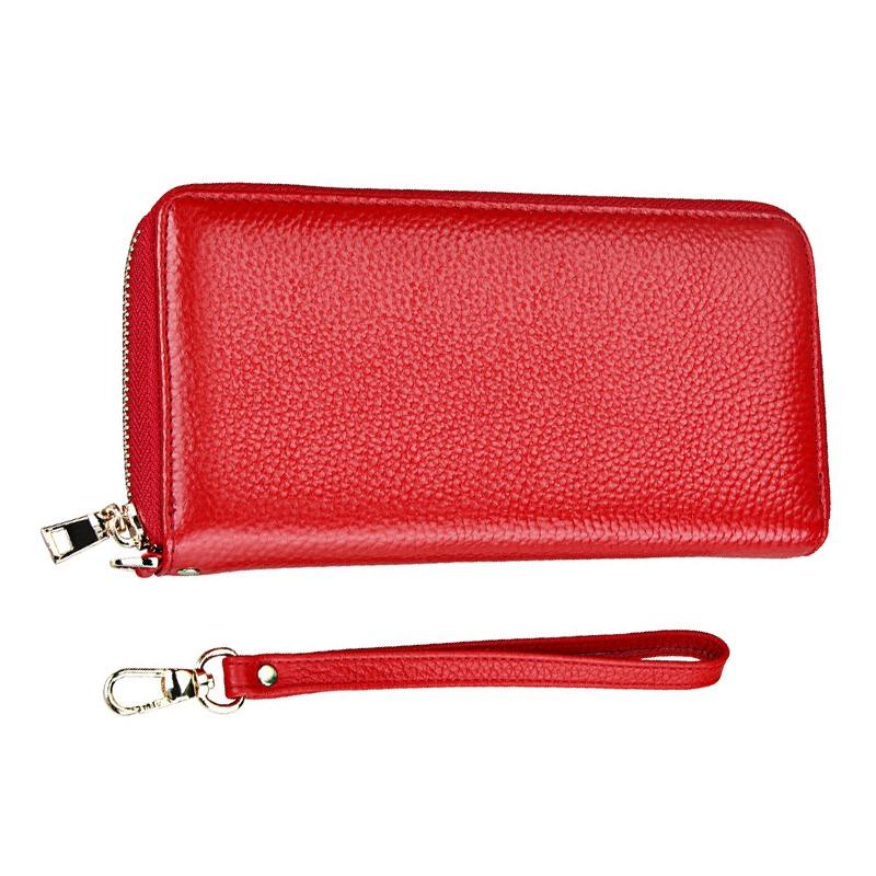 8980d53283a moda mujeres largo monederos nuevo estilo cuero monederos ta. Cargando zoom.