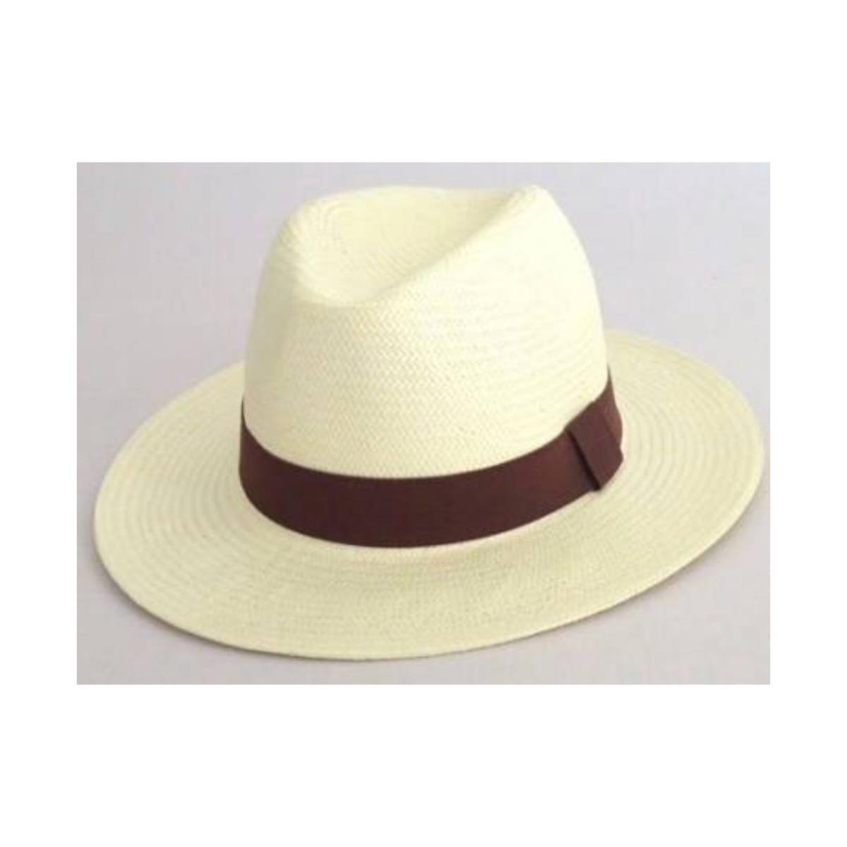 9509825093059 Carregando zoom... 4 chapéu aba longa moda panamá clássico casual praia  unissex