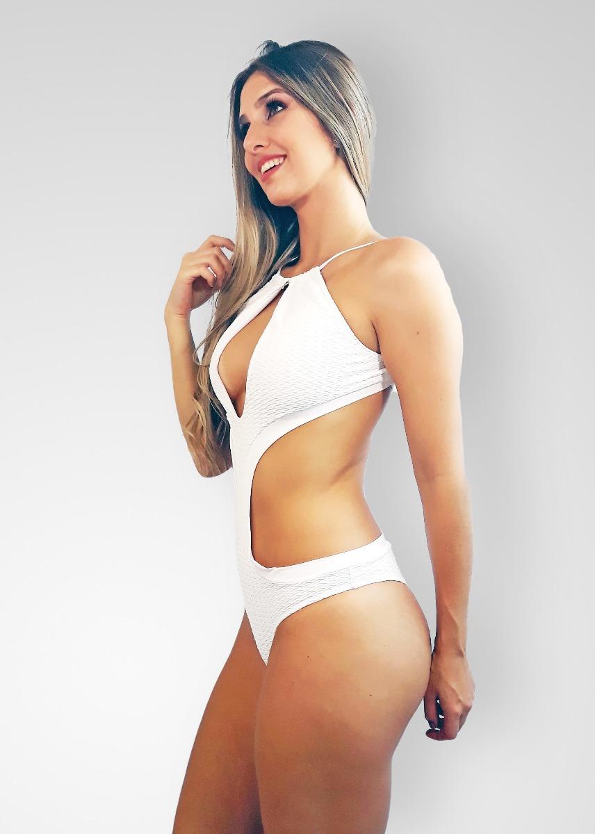 cca97b951b27 Moda Praia Maio, Body Decote Em U, Moda Praia Tamanho 48 M8 - R$ 105 ...