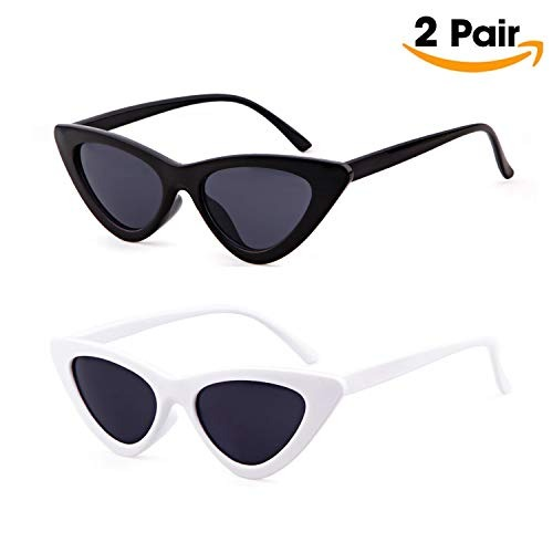 nuevo concepto 7d117 adc10 Moda Retro Mujer Triángulo Ojo De Gato Gafas De Sol Gafas...