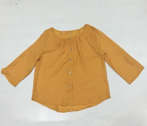 e6aa4a4393 Moda Señora Verano Largo Manga Blusa Suelta... (2xl