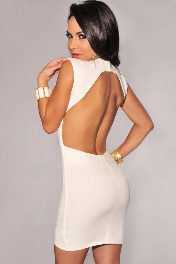 Vestidos de fiesta con espalda abierta