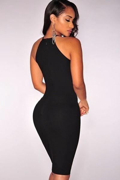 Mini vestidos de fiesta negro