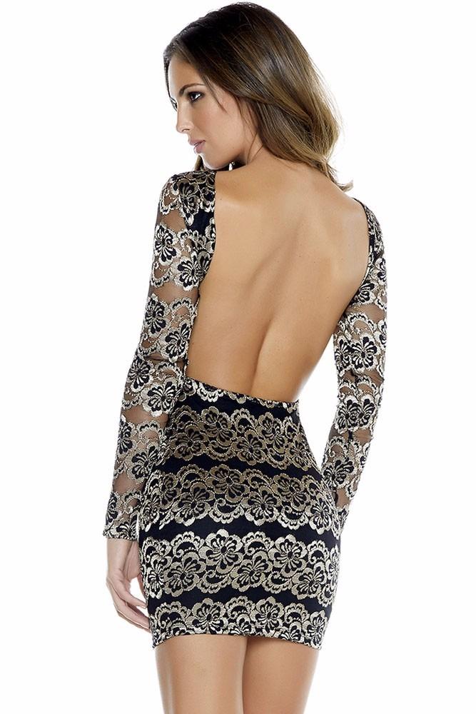 Mini vestidos de encaje