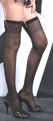 moda sexys medias negras lisas