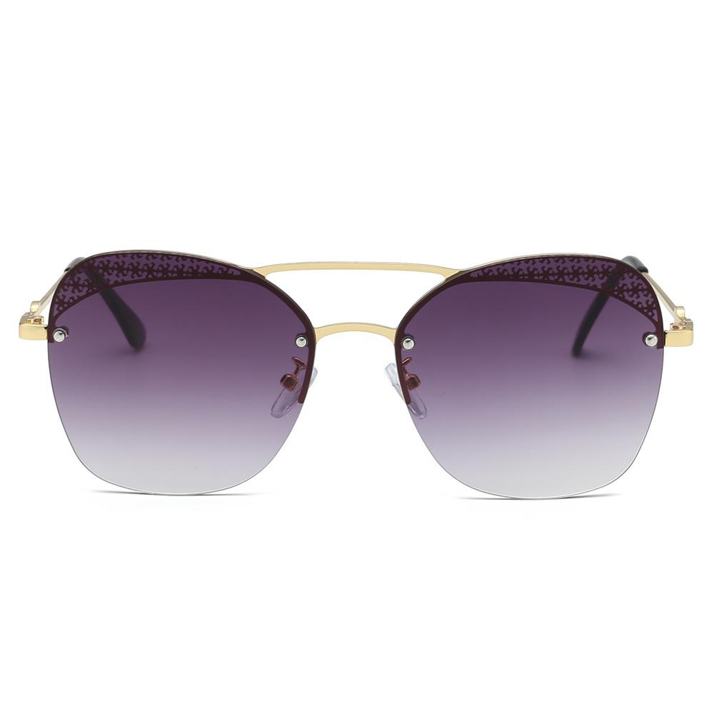 f233a40d3c moda unisex gafas de sol gafas sin marco uv 400 lente de. Cargando zoom.