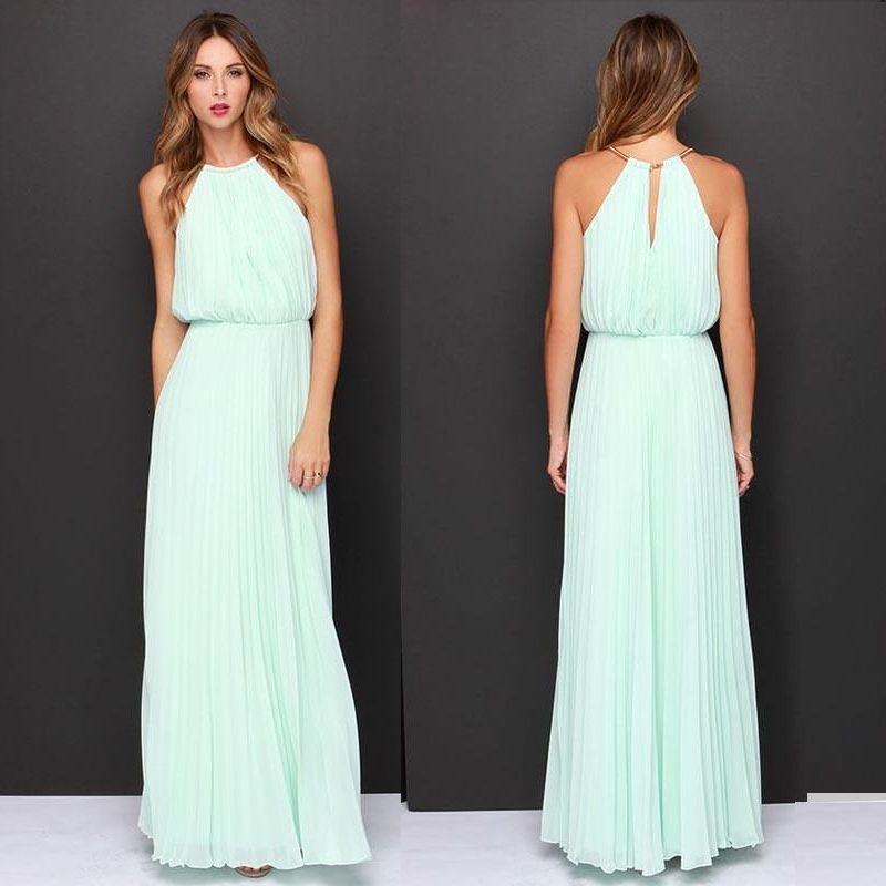 970a06da1 Moda Vestido Largo Elegante Coctel Fiesta Matrimonio -   110.600 en ...