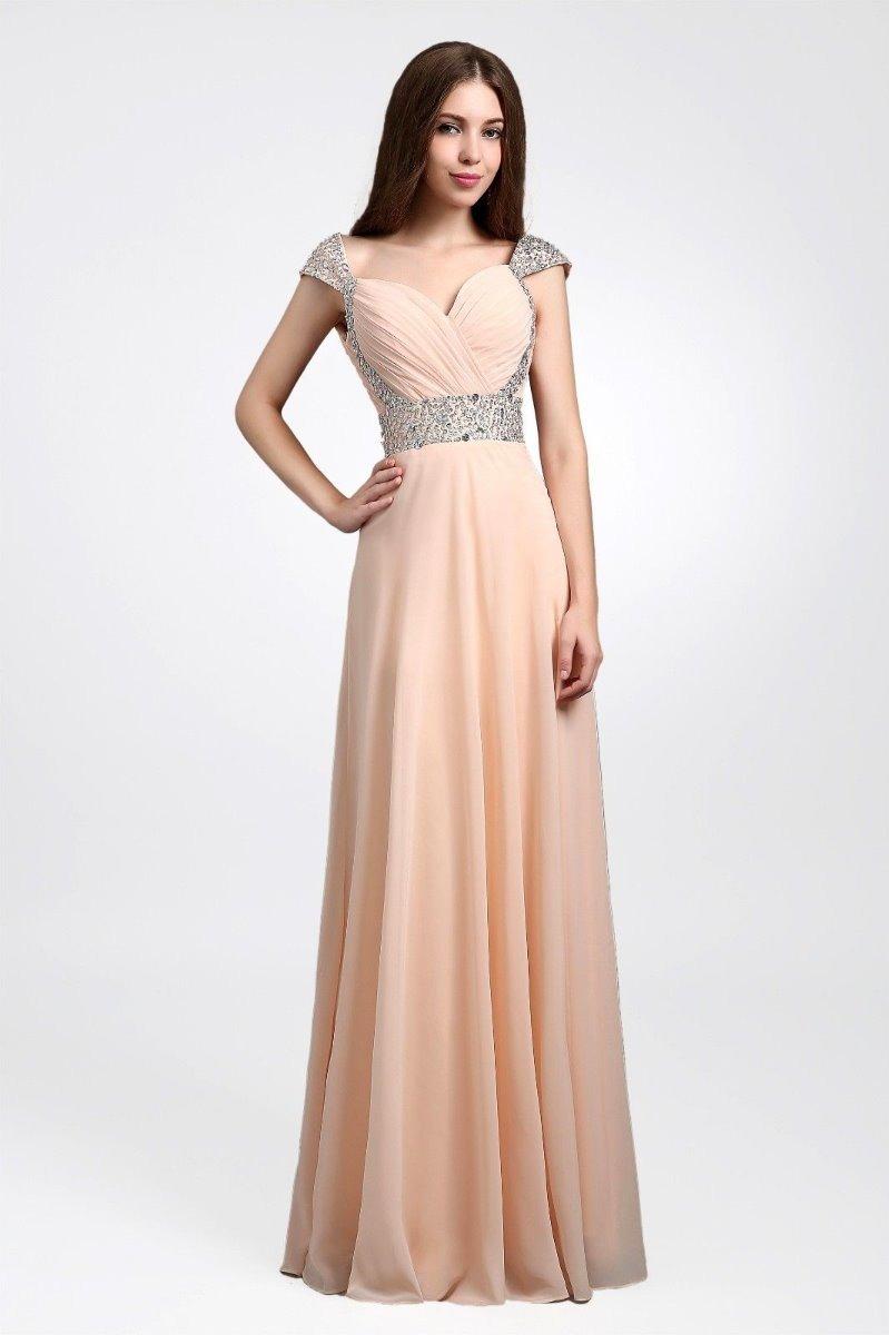 50fcf39ea Moda Vestido Largo Elegante Coctel Fiesta Matrimonio -   225.200 en ...