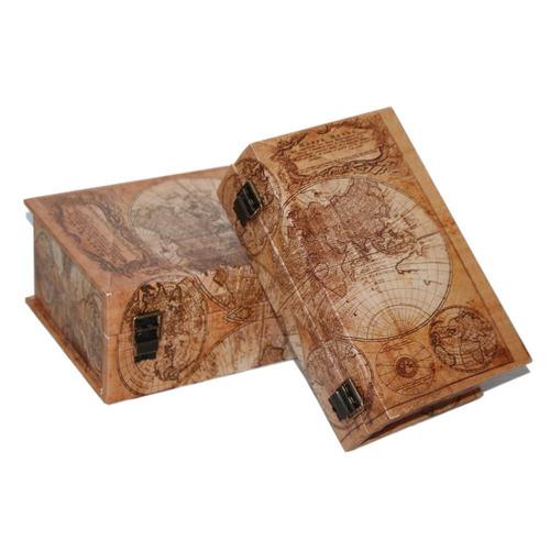 Mode home world map vintage decorative box wooden treasure mode home world map vintage decorative box wooden treasure gumiabroncs Image collections