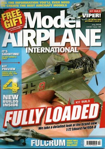 model airplane revista inglesa de modelos aéreos em escala