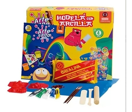 modela con arcilla juego fabrica artesano kit arte habano ed