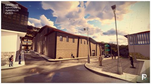modelado 3d arquitectonico y recorridos virtuales realistas/