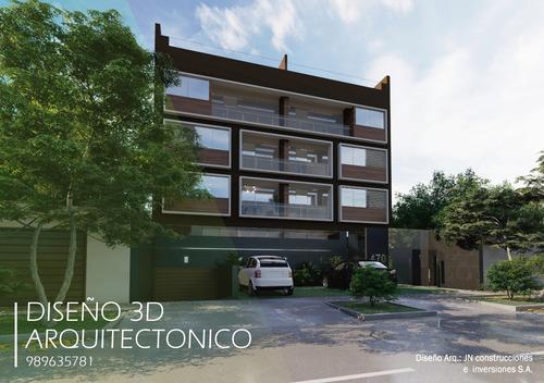 modelado 3d arquitectura, recorridos,planos, render vivienda