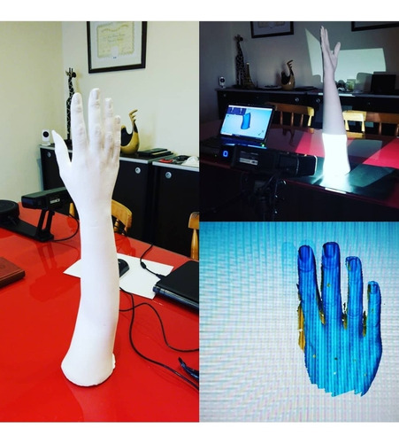 modelado 3d con scanner 3d  ingeniería inversa solidworks