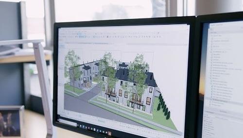 modelado 3d renderizado recorridos virtual, realidad virtual