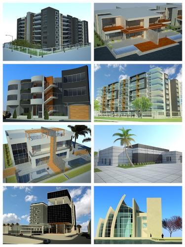 modelado arquitectónico 3d