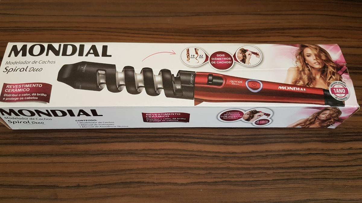 1197ad347 modelador de cachos mondial spiral duo - cerâmica 200ºc. Carregando zoom.