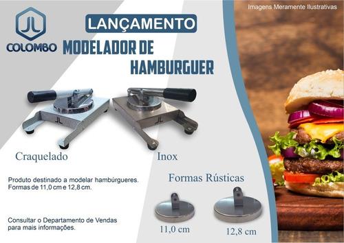 modelador de hamburguer