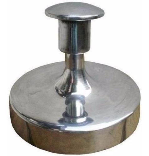 modelador de hambúrguer caseiro 12cm  manual em alumínio