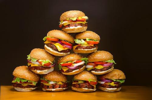 modelador de hamburguer lanchonete / restaurante -2 unidades