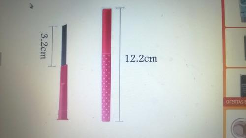 modelador de sombram celha! 3 formas,1 mini escova,1 lápis!