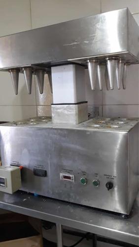 modeladora industrial pizza cone
