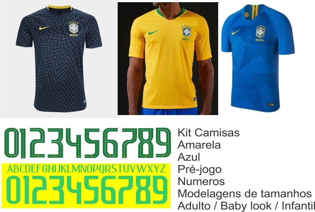 modelagem camisa brasil 2018 molde uniforme. Carregando zoom. 984d3e9326725