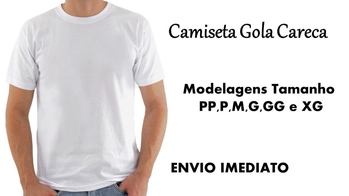 741edec0d2f0d modelagem de camiseta gola careca contém ficha técnica. Carregando zoom.