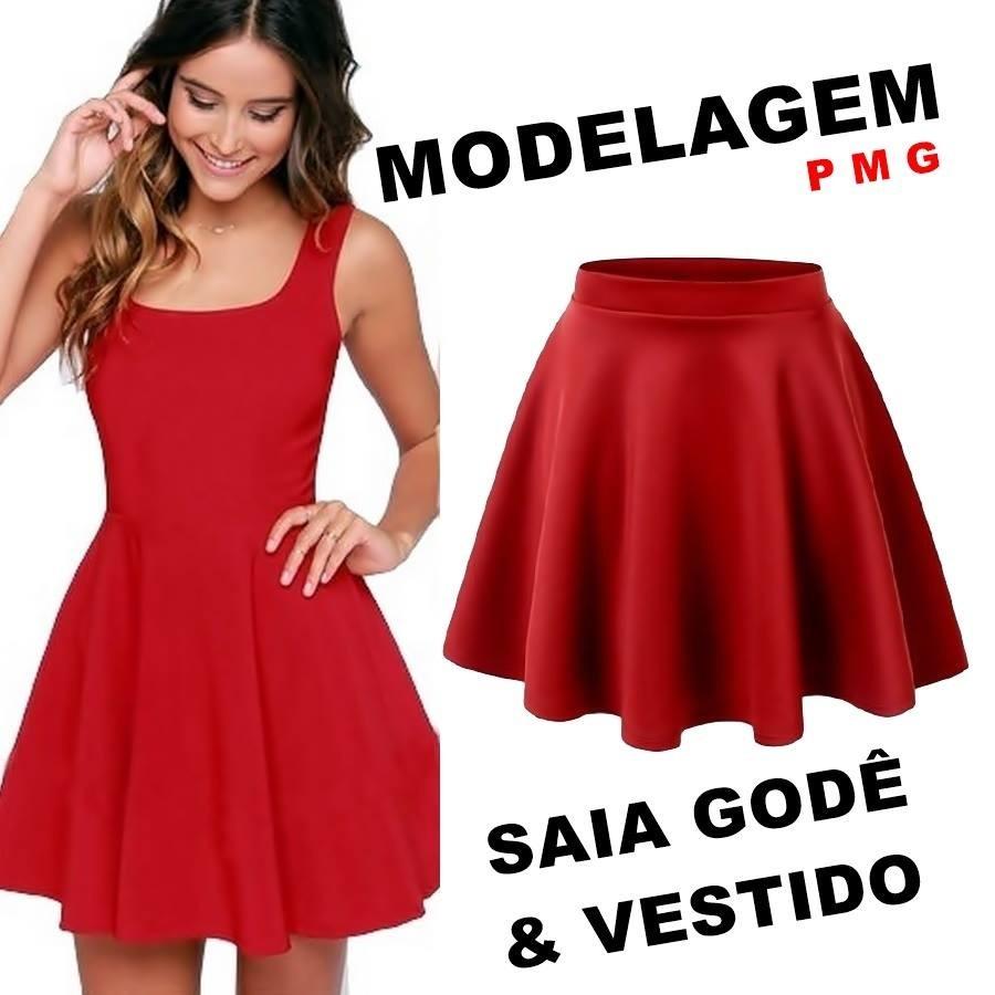 d5a809e139 modelagem para costura saia e vestido molde profissional. Carregando zoom.