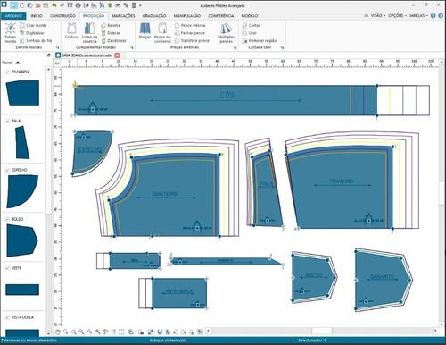modelagem,mapas,corte e etiquetas de composição