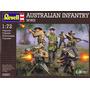 Soldados Modelo - Revell Australiana De Infantería De Wwii