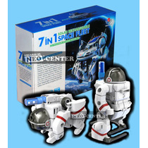 Robot Solar 7 En 1 * Kit Armable Educacional Con Movimiento