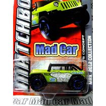 Mc Mad Car Mbx Jeep Willys Concept Auto Matchbox 1:64