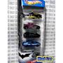 Mc Mad Car Batman Batimovil Pack 5 Autos Hot Wheels 1:64
