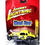 Mc Mad Car Modified Chevy Coupe Johnny Lightning Auto 1:64
