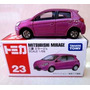 Mc Mad Car 23 Mitsubishi Mirage Tomica Auto Coleccion Japon