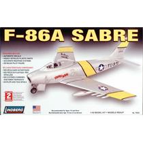 Avion En Kit (para Armar), F-86a Sabre, 1/48. Lindberg Usa.!
